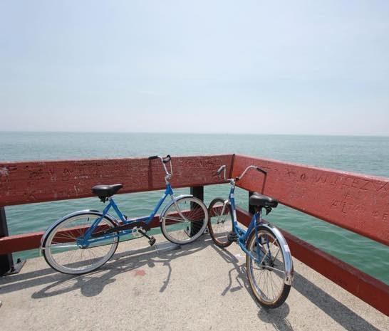 Radeln auf Usedom